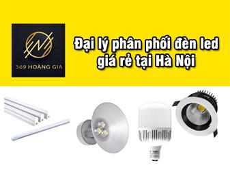 đại lý phân phối đèn led giá rẻ tại hà nội 1