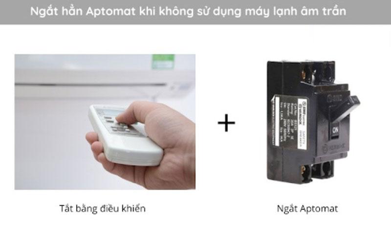 Hướng dẫn sử dụng máy lạnh âm trần hiệu quả