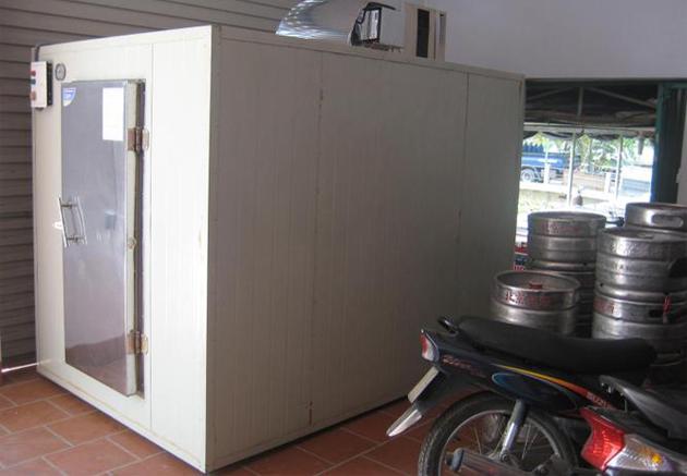kho lạnh bảo quản bia hơi